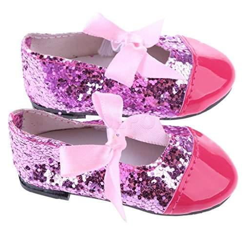 Buy Electroprime Doll Shoes Bow Strap Flats For 43cm Baby Born Zapf Doll Clothes Dress Up Acc Features Price Reviews Online In India Justdial