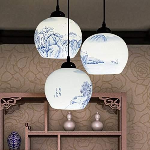 Style Lamps Stairs Villa Lamp Za Zs20, Chinese Style Lamps