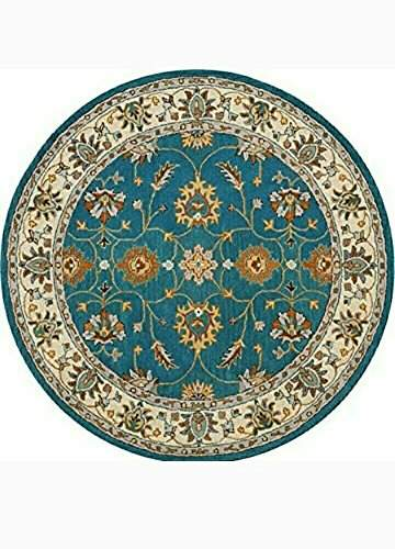 Persian Woolen Round Carpet For
