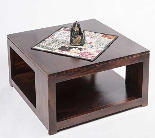 Ikiriya Sheesham Solid Wood Coffee Table Center Living Room