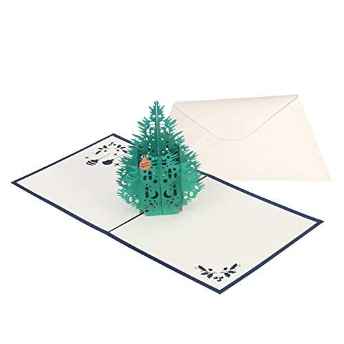 Buy 15 X 15cm 3d Christmas Themed Pop Up Cards Merry Christmas Card For Christmas Holiday Greeting Card With Envelope H35 Features Price Reviews Online In India Justdial