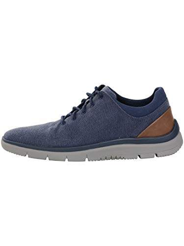 Contador Monumento consonante  Buy Clarks Men's Tunsil Ace Navy Sneakers-7 (91261373267070), Features,  Price, Reviews Online in India - Justdial
