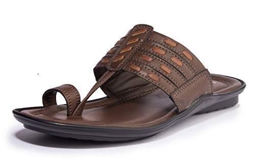 Khadims Men's Brown Ethnic Dress Sandal