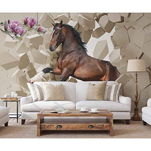 Buy Nish 3d Wallpaper For Living Room Wall Mural 030 Vinyl Wall Covering Xs 6ft X 4ft 1pc Features Price Reviews Online In India Justdial