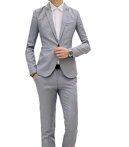 Buy Security Men S Suit 3 Piece Suit Blazer One Button Tuxedo Business Wedding Party Jackets Shirts Amp Trousers 4 M Features Price Reviews Online In India Justdial