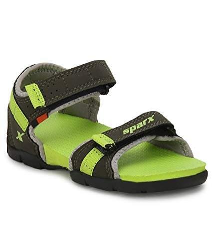 Sparx Kids SS-109 Olive Green Sandals