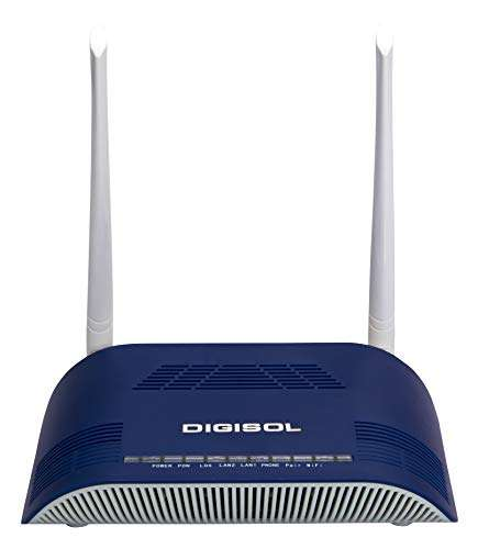 Buy Digisol Dg Gr1321 Gepon Gpon Onu 300mbps Wifi Router 1pon 1ge Amp 1fe 1fxs Pack Of 10 Features Price Reviews Online In India Justdial