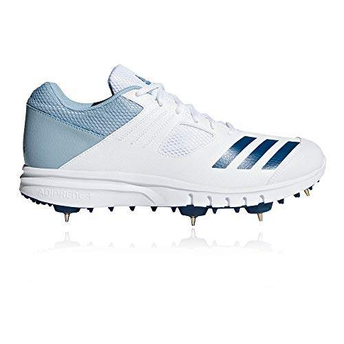 envío haga turismo Hombre rico  Buy ADIDAS Men's Cricket Howzat Spike Shoes (Latest Adition Matel Spikes)  (UK 10), Features, Price, Reviews Online in India - Justdial