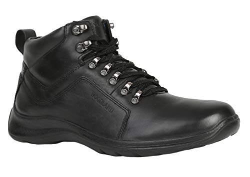 black leather shoes woodland