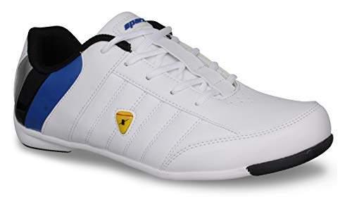 Buy Sparx Men SM-393 White Blue Sports