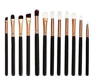 Black Elecool 12pcs Hot Eye Makeup