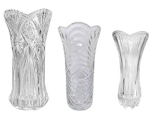 Buy Kabello Crystal Flower Glass Vase For Office And Home Dcor Use Pack Of 1 Large Medium Small Features Price Reviews Online In India Justdial