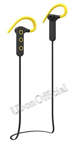 Buy Ubon Cl 20 Kabilo Bass Wireless Neckband Earphone Yellow Features Price Reviews Online In India Justdial