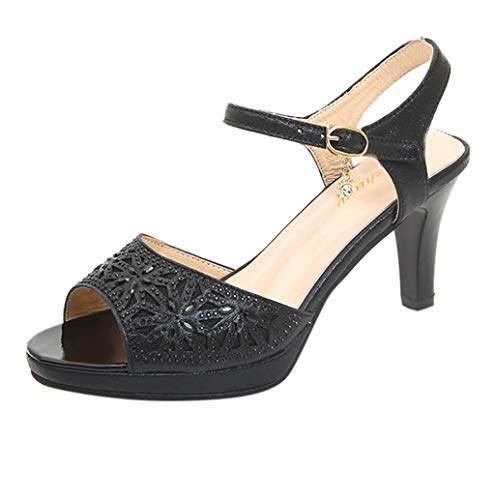 black open toe dress shoes