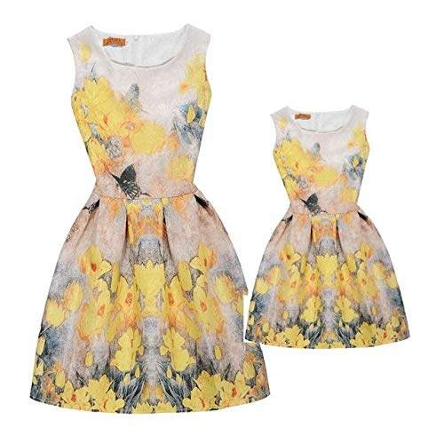 Buy Summer Mother Daughter Dresses Mom Mother And Daughter Matching Clothes Family Clothing Vintage Floral Princess Wedding Dress 5 Mom M Features Price Reviews Online In India Justdial,Wedding Plus Size Semi Formal Dresses