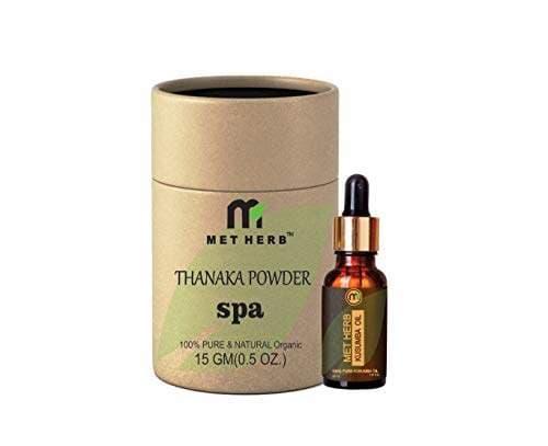Buy 15g Thanaka Powder And 30 Ml Kusumba Oil For Permanent Hair