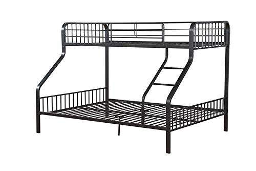 Buy Acme Caius Gunmetal Twin Xl Over Queen Bunk Bed Features Price Reviews Online In India Justdial