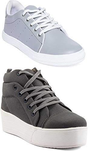 Buy Longwalk Pack of 2 Women Grey Grey