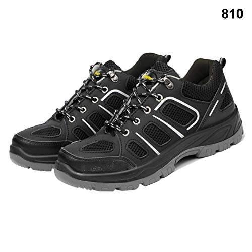 black sneaker work shoes