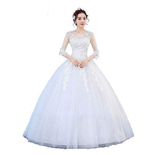 Buy Gownlink Beautiful Full Stitched Christian Ball Gown Dress In White Color For Women Gz804 Xxx Large Features Price Reviews Online In India Justdial