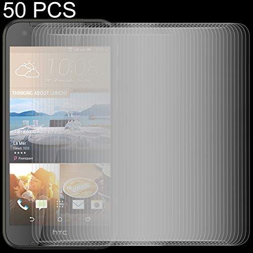 GzPuluz Glass Protector Film 50 PCS for LG Stylo 3 0.26mm 9H Surface Hardness Explosion-Proof Non-Full Screen Tempered Glass Screen Film