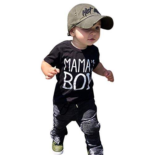 Boys Letter Shirt with Matching Pant