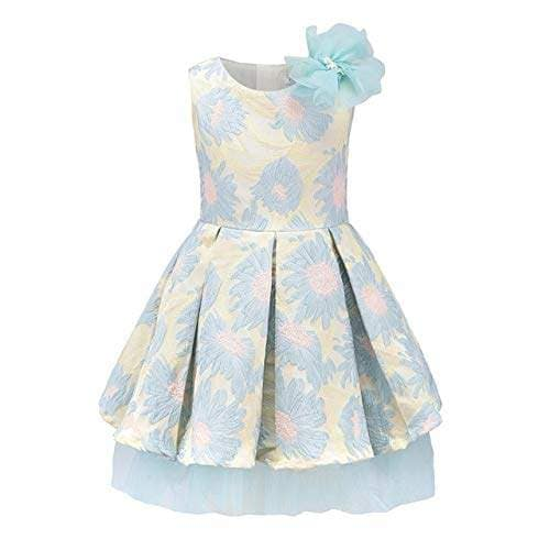 Buy Soledi Childdkivy Girls Party Dress Children Princess Dress Clothing Ball Gown Sleeveless Kids Evening Dresses For Girls 3 10 Years Features Price Reviews Online In India Justdial