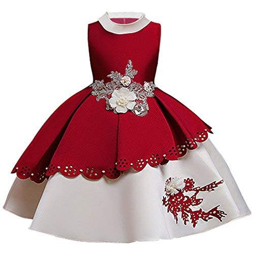 Buy Hangon 2019 Christmas Dress Girls Elegant Princess Dress Kids Dresses For Girls Party Gown Carnival Children Clothing 2 10 Year Wine Red Features Price Reviews Online In India Justdial