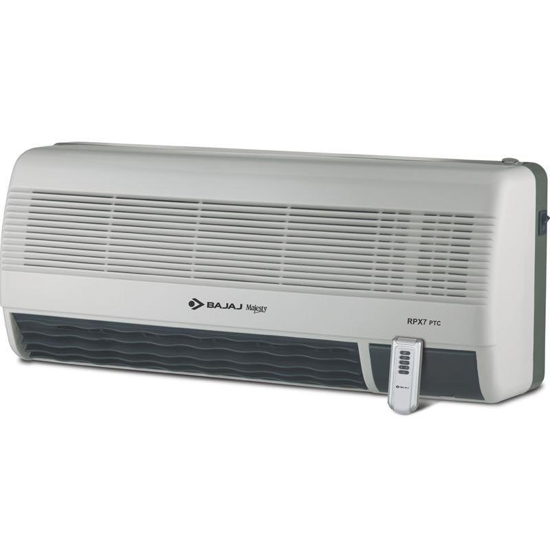 Buy Bajaj Majesty Rpx 7 Ptc Wall Mount Room Heater 260056 Features Price Reviews Online In India Justdial