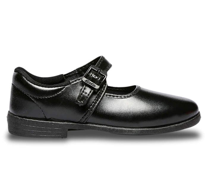 Buy Bata Black School Shoes For Girls