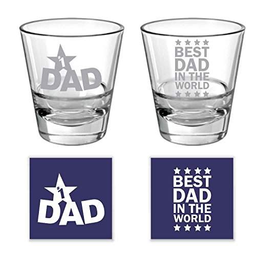 Buy Yaya Cafe Birthday Gifts For Father No 1 Best Dad In The World Whisky Glass For Dad Set Of 2 350 Ml Features Price Reviews Online In India Justdial