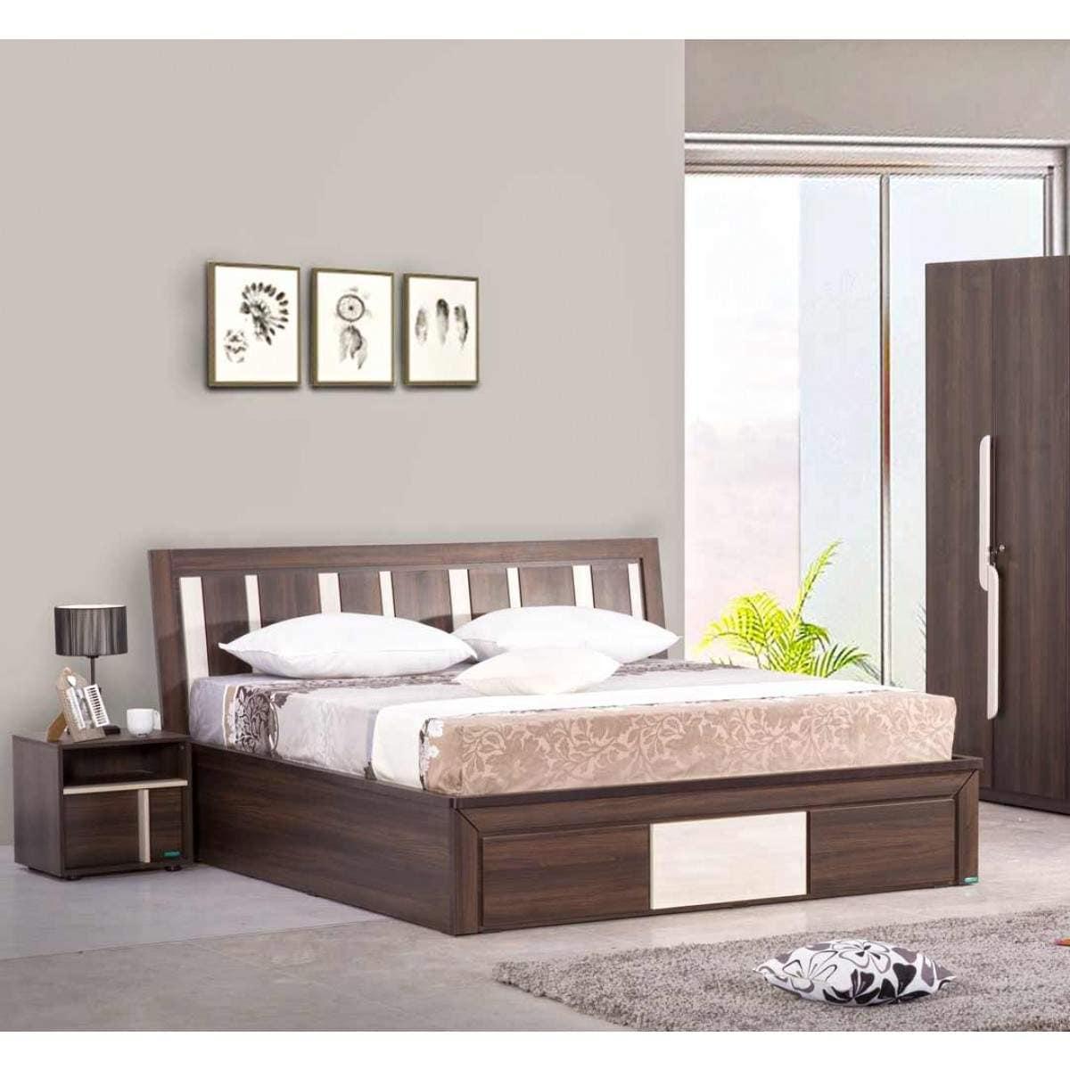 Buy Damro Felicia 4 Piece Bedroom Set Features Price Reviews Online In India Justdial