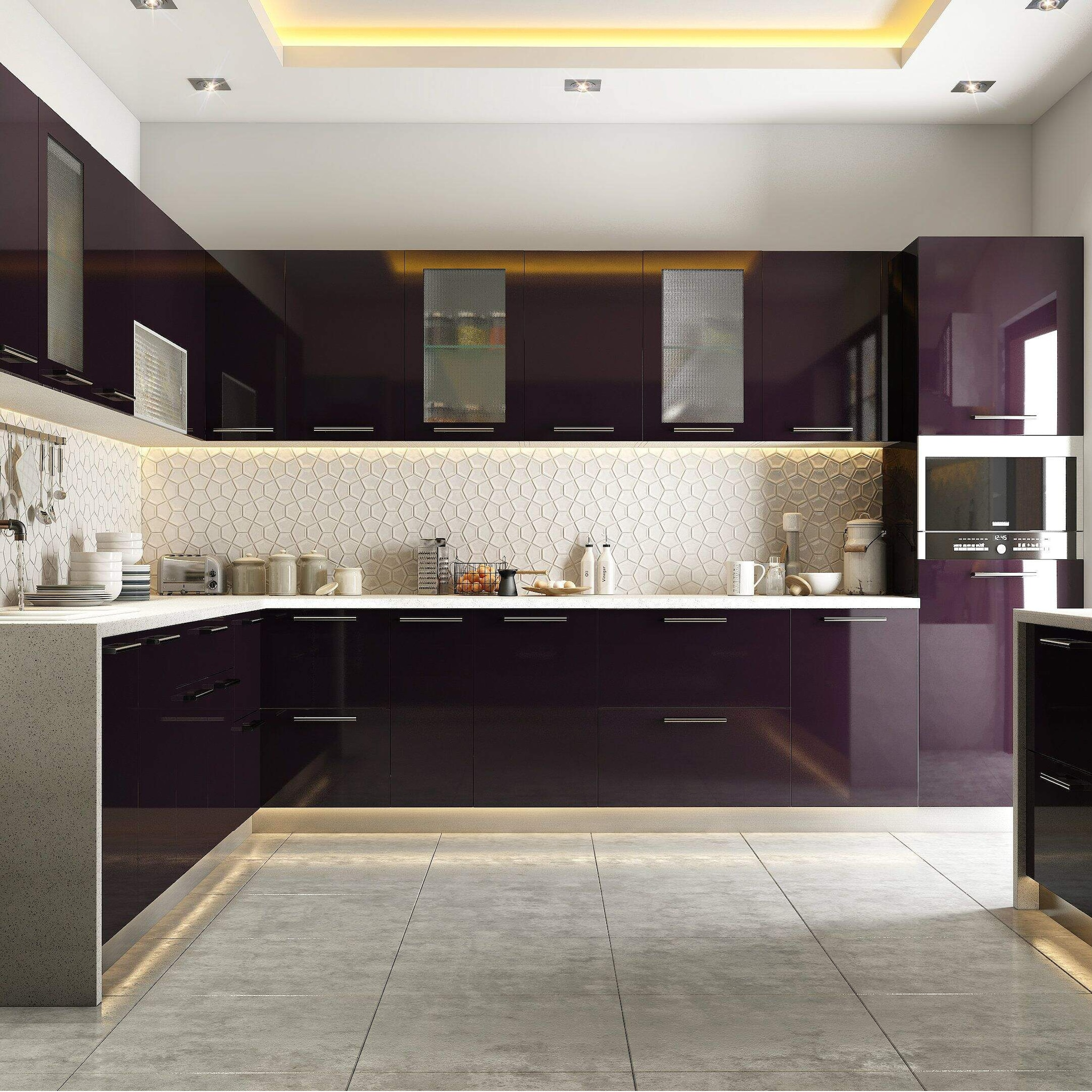 Designer Modular Kitchen At Best Price Designer Modular Kitchen By Laxmi Steel Industries In Pune Justdial