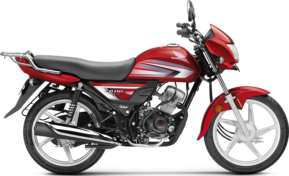 Buy Honda CD 110 Dream DX CBS STD Carrier - Imperial Red Metallic,  Features, Price, Reviews Online in India - Justdial