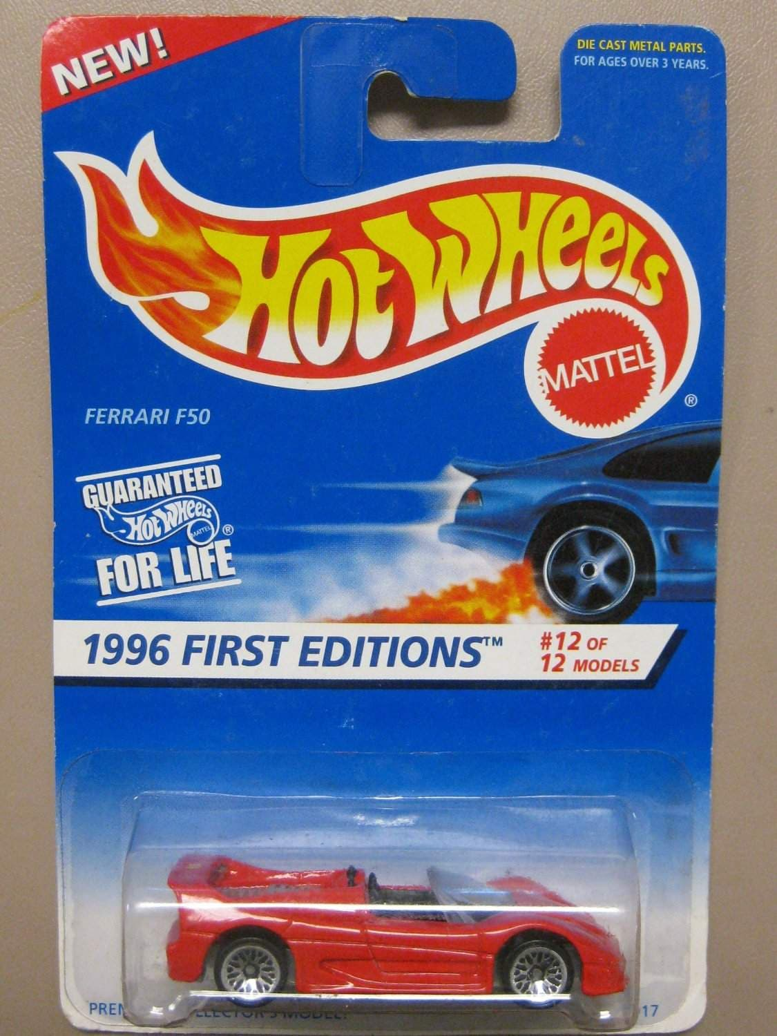 Buy Hot Wheels Ferrari F50 1996 1st Editions 12 Of 12 Cars Collector 377 Features Price Reviews Online In India Justdial