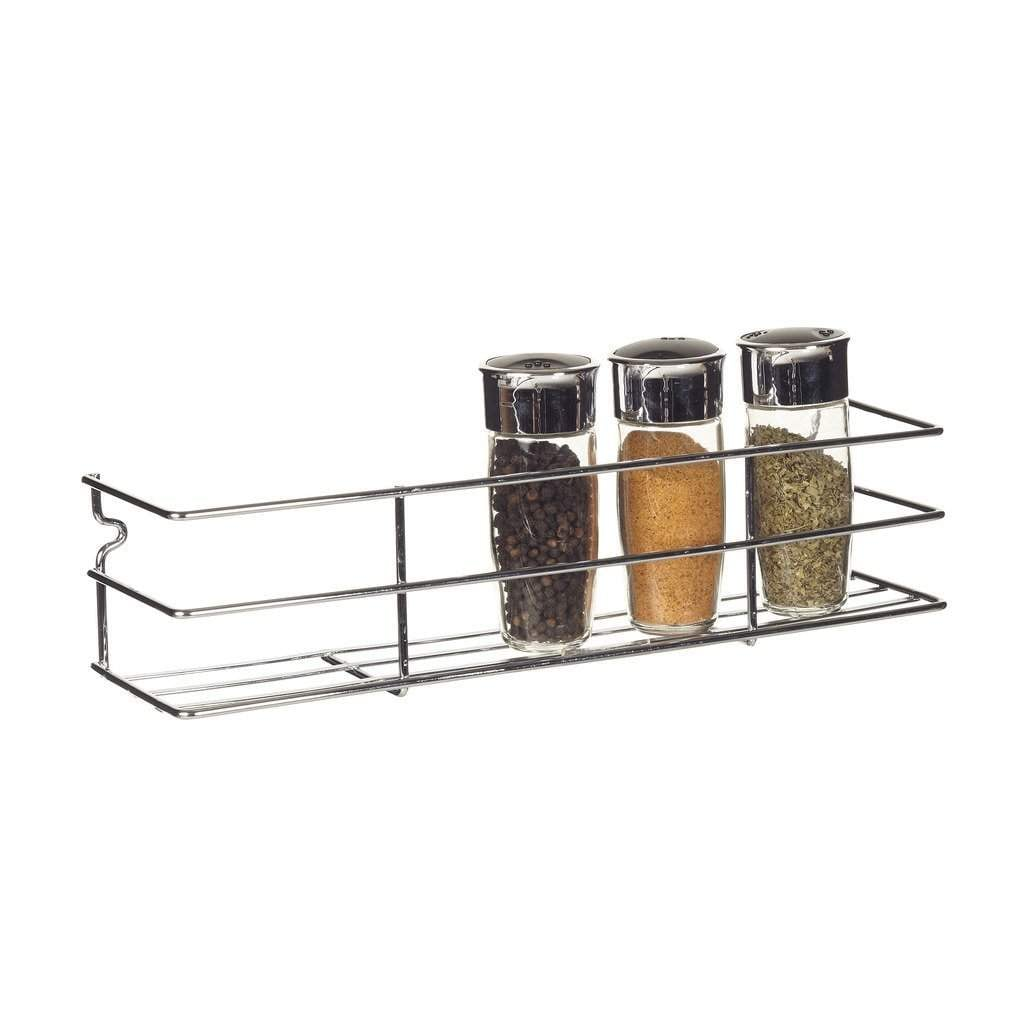 Image of: Buy Howards Wall Mounted Spice Rack In Chrome Features Price Reviews Online In India Justdial