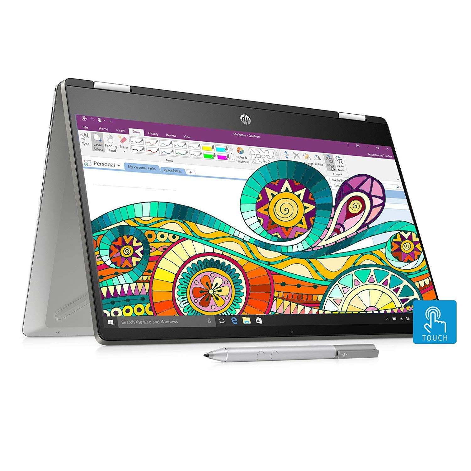 Buy Hp Pavilion X360 14 Dh0107tu Core I3 8th Gen 14 Inch Touchscreen 2 In 1 Thin And Light Laptop 4gb 256gb Ssd Windows 10 Ms Office Inking Pen Natural Silver Features Price Reviews Online In India Justdial