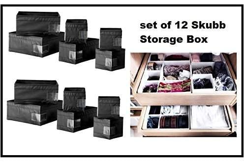 Ikea Drawer Boxes Organizers, Black Storage Drawers Ikea