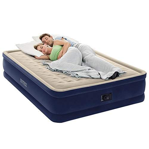 Intex Dura Beam Series Elevated, Deluxe Air Bed Queen Size