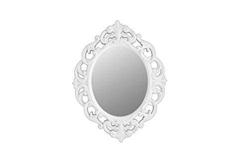 Buy Kole White Oval Vintage Wall Mirror Features Price Reviews Online In India Justdial