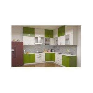 L Shape Designer Modular Kitchen At Best Price L Shape Designer Modular Kitchen By In My Budget In Mumbai Justdial