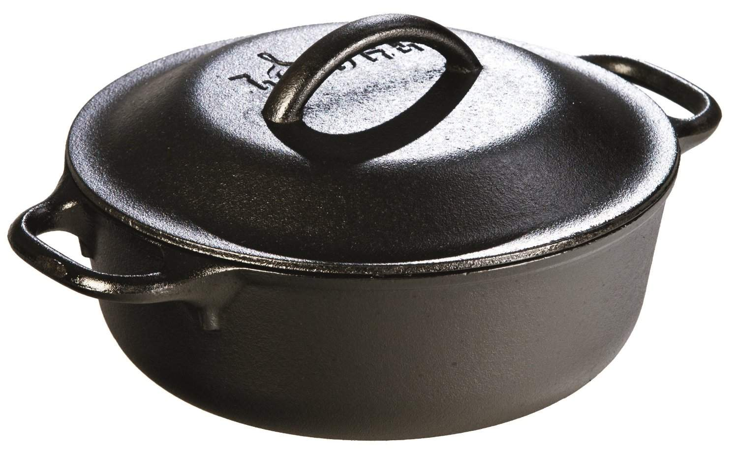Buy Lodge 2 Quart Cast Iron Dutch Oven Pre Seasoned Pot With Lid For Cooking Basting Or Baking Features Price Reviews Online In India Justdial