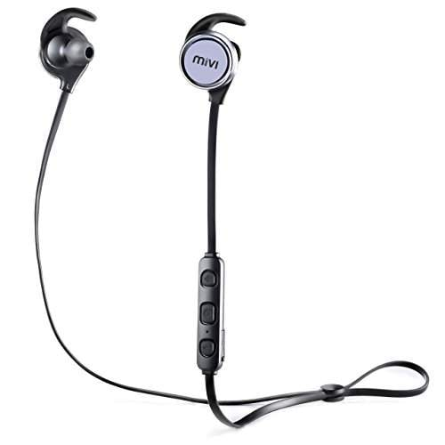 Buy Mivi Thunder Beats Wireless Bluetooth Earphones With Stereo Sound And Handsfree Mic Gun Metal Features Price Reviews Online In India Justdial