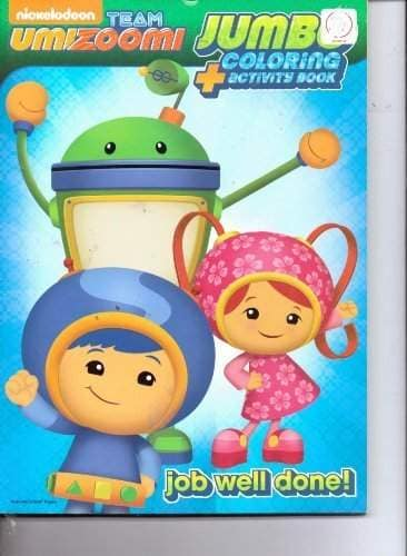 Buy Nickelodeon Team Umizoomi Jumbo Coloring Activity Book Job Well Done Features Price Reviews Online In India Justdial