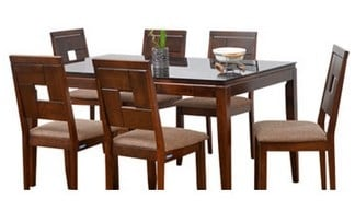 Buy Nilkamal Hampshire 1 6 Dining Table Set Features Price Reviews Online In India Justdial