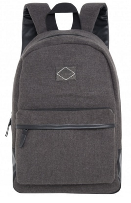 Buy Pepe Jeans Men Dijon Wool Backpack Grey Marl Pm030431933 Features Price Reviews Online In India Justdial