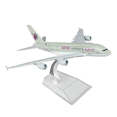 Buy Qatar Airbus 380 16cm Metal Airplane Models Child Birthday Gift Plane Models Home Decoration Features Price Reviews Online In India Justdial