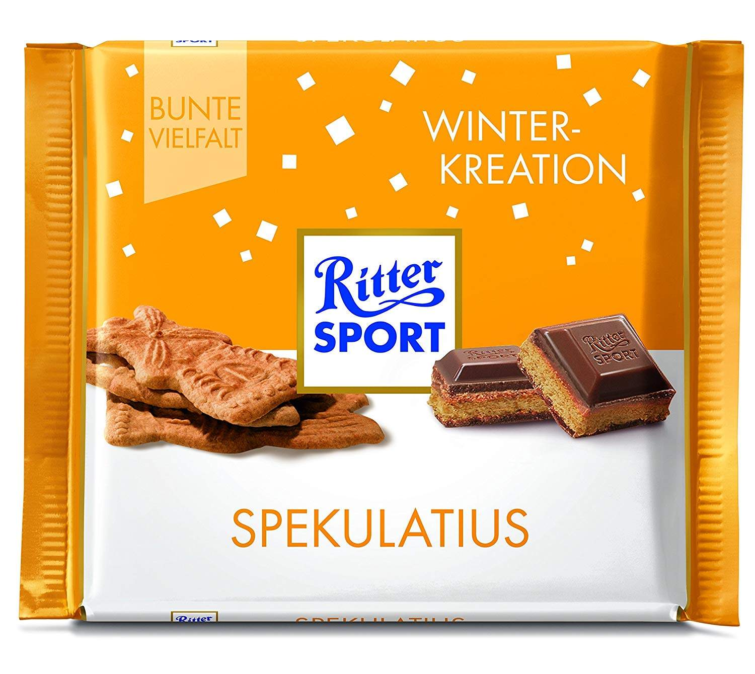 Buy Ritter Sport Winter Creation Spekulatius Chocolate Bar 100 Gm Features Price Reviews Online In India Justdial