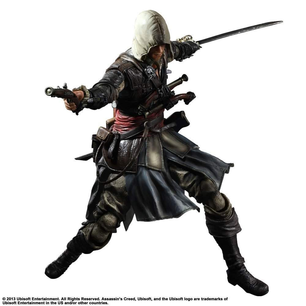 Buy Square Enix Play Arts Kai Edward Kenway Assassins Creed Action