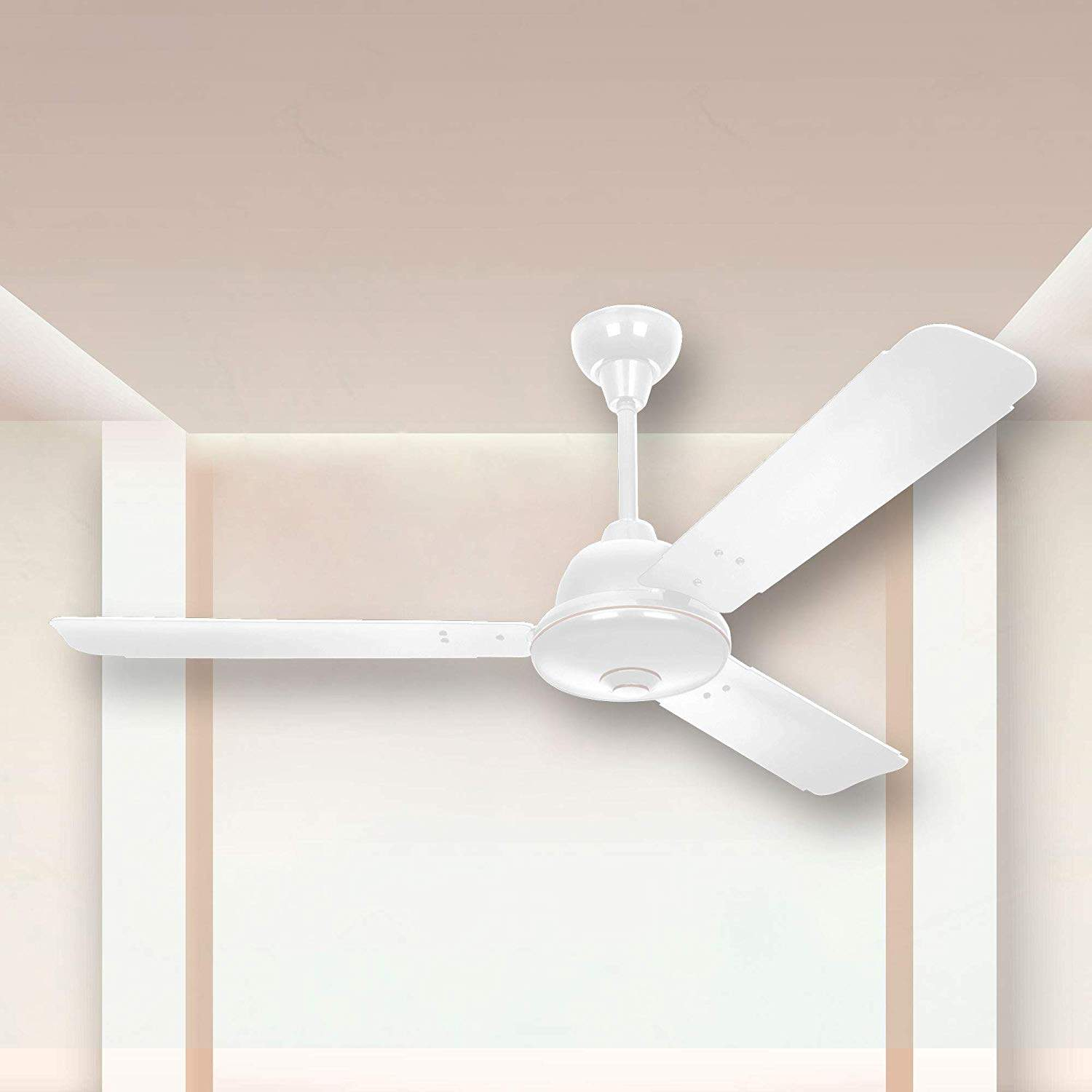 Image of: Buy Syska Primo Energy 1200mm Ceiling Fan White Features Price Reviews Online In India Justdial
